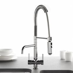 Idealaqua | Kitchen sink mixer Idealaqua series forwater treatment, with separated waterflows. | Griferías de cocina | Quadrodesign
