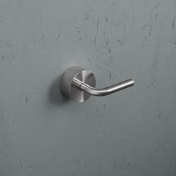 Levo | Stainless steel Wall mounted hydroprogressive mixer | Bathroom taps accessories | Quadrodesign