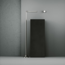 Shower | Stainless steel Free-standing spout for bathtub H. 999 mm | Bath taps | Quadro