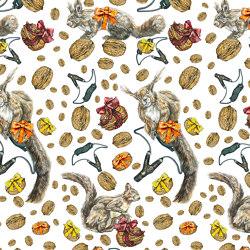Squirrel   artist wallpaper   Wall coverings / wallpapers   Ginny Litscher