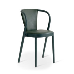 ROTUNDA Chair Upholstered back | Sillas | Gemla