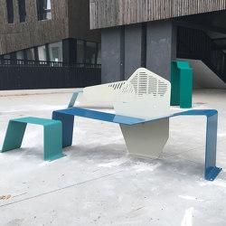 Astrée | Sitzbänke | TF URBAN