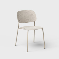 Hale PET Felt Stack Chair | Chairs | De Vorm