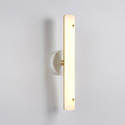 Counterweight Circle Sconce (Ash) | Wall lights | Roll & Hill