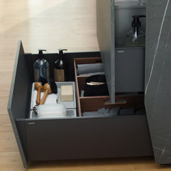 Plinth drawer FINE | Kitchen organization | Santos
