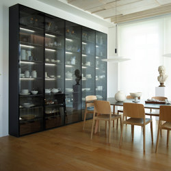 Glass door unit FINE | Kitchen cabinets | Santos