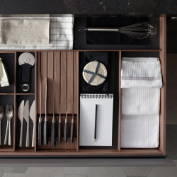 FINE Customisable drawers and bins | Kitchen organization | Santos