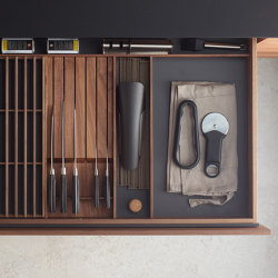 Drawer accessories | Kitchen organization | Santos