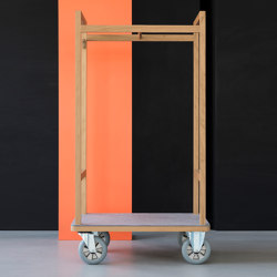 Gustav | luggage trolley | Wagen | Georg Muehlmann