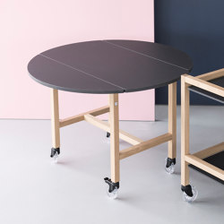 Aton | serving table | Tavolini alti | Georg Muehlmann