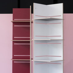 Juli | shelf on wheels | Shelving | Georg Muehlmann