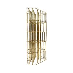 Golden Cage | Estantería | Ceccotti Collezioni