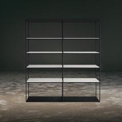 TIME bookshelf | Shelving | GIOPAGANI