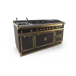 COOKING RANGES | OGS168 | Ovens | Officine Gullo