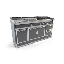COOKING RANGES | OGS168SP | Ovens | Officine Gullo