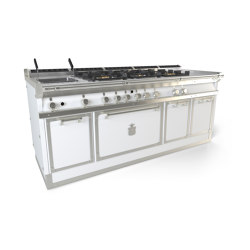 COOKING RANGES | OGS208S | Ovens | Officine Gullo
