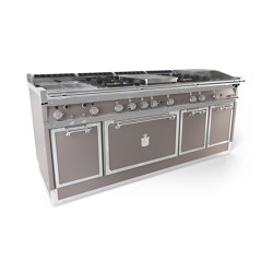 COOKING RANGES | OGS208SP | Ovens | Officine Gullo