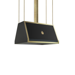 """DOMESTIC """"PYRAMID WITH STRAIGHT SIDES"""" ISLAND HOOD CPD017ISL 