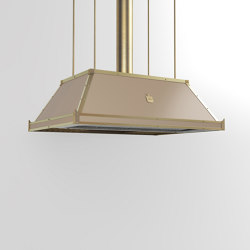 "PROFESSIONAL ""LOW PYRAMID"" ISLAND HOOD