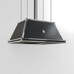 "PROFESSIONAL ""HIGH PYRAMID"" ISLAND HOOD
