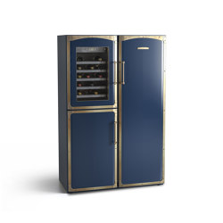 Fridge-freezer with BioFresh and Wine chiller