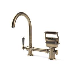 TAPS | SINGLE MIXER WITH ARCH SPOUT | Kitchen taps | Officine Gullo