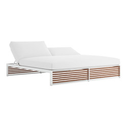 DNA Teak Chill Bed | Sun loungers | GANDIABLASCO