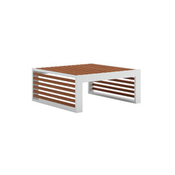 DNA Teak Chaiselongue Table | Coffee tables | GANDIABLASCO