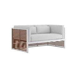 DNA Teak 2-Seat Sofa | Sofas | GANDIABLASCO