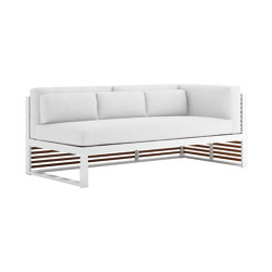 DNA Teak Sectional Sofa 1 | Sofas | GANDIABLASCO