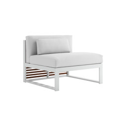 DNA Teakholz Modul Sofa 3 | Sessel | GANDIABLASCO