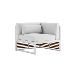 DNA Teakholz Modul Sofa 6 | Sessel | GANDIABLASCO