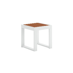 DNA Teak Square Coffee Table | Side tables | GANDIABLASCO
