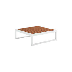 DNA Teak Square Coffee Table | Coffee tables | GANDIABLASCO