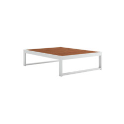 DNA Teak Rectangular Coffee Table | Coffee tables | GANDIABLASCO