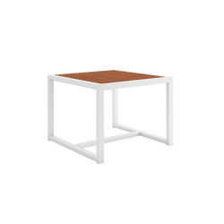 DNA Teak Square Dining Table | Dining tables | GANDIABLASCO