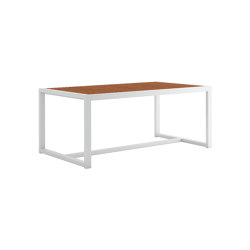 DNA Teak Rectangular Dining Table | Dining tables | GANDIABLASCO