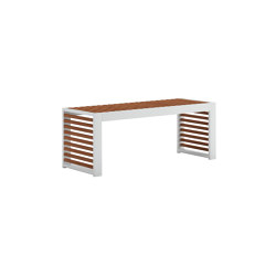 DNA Teak Bench | Benches | GANDIABLASCO