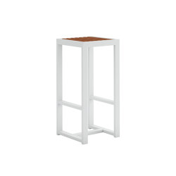 DNA Teak High Stool | Stools | GANDIABLASCO