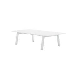 Timeless Rechteckiger Niedriger Tisch | Couchtische | GANDIABLASCO