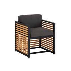 DNA Teak Club Chair | Sillas | GANDIABLASCO