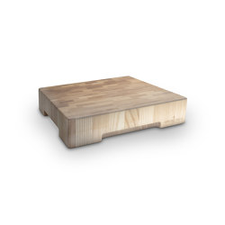CHOPPING BOARDS | LAMINATED ASH CHOPPING BOARD 40X40 CM | Chopping boards | Officine Gullo