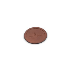 Leather coaster | Kitchen accessories | Officine Gullo
