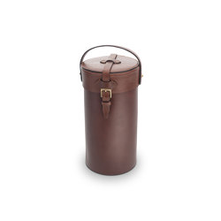 LEATHER ACCESSORIES   CYLINDRICAL CUTLERY HOLDER 26,5 CM   Knife blocks   Officine Gullo