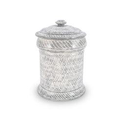JARS | PORCELAIN JAR GREY 35 CM | Kitchen accessories | Officine Gullo
