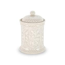 JARS | PORCELAIN JAR BEIGE 20 CM | Kitchen accessories | Officine Gullo