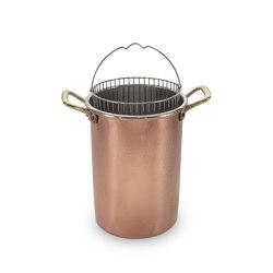 Copper asparagus cooker | Kitchen accessories | Officine Gullo