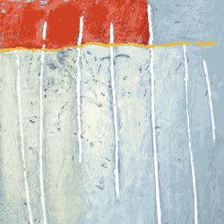 Artplay 2 red silver | Rugs | THIBAULT VAN RENNE