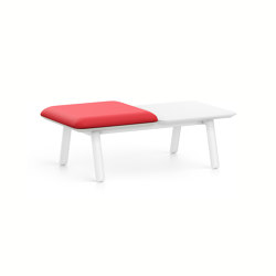 HUB 2 bench HU23L | Benches | Interstuhl
