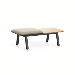 HUB 2 bench HU23L | Benches | Interstuhl
